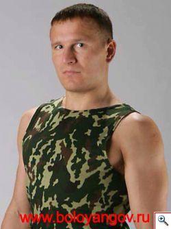 Павел Болоянгов в военной форме